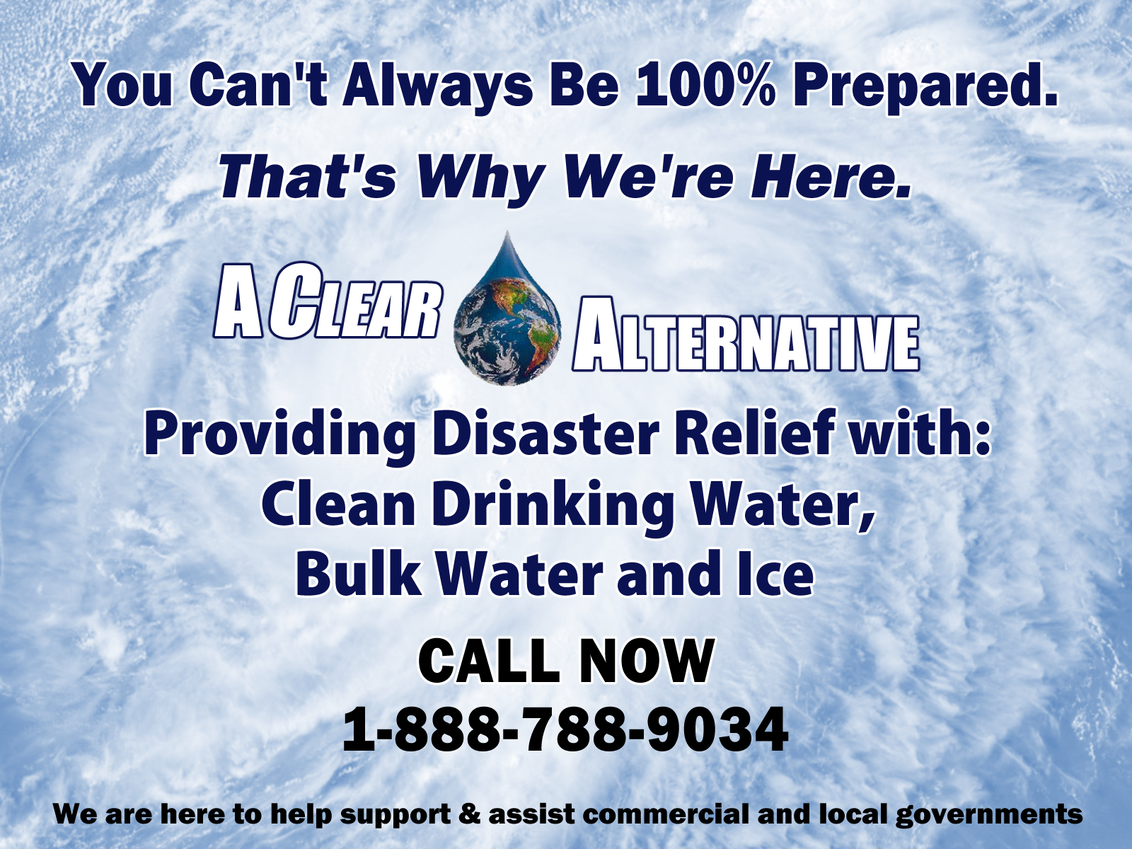 Hurricane Florence Relief for Clean Water