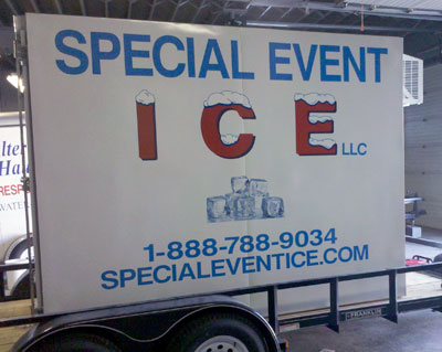 Ice merchandice rentals